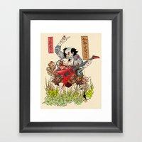 Metaruu! Framed Art Print