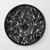 Ab Fan #2 Wall Clock