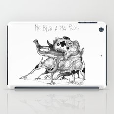 Mc Blob a ma Puss iPad Case