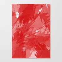 RED HOT CHILI PRINT Canvas Print