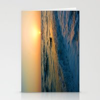 Ocean Sunset 1 Stationery Cards