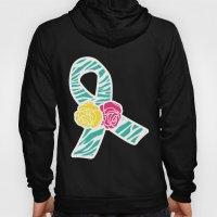 Endometriosis Ribbon 3 Hoody