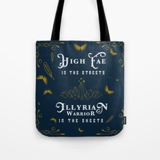 HIGH FAE IN THE STREETS Tote Bag