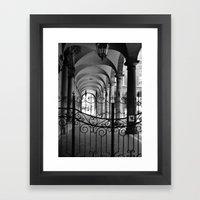 Cave Canem Rome, Italy  Framed Art Print