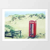 A Call From Paradise Art Print