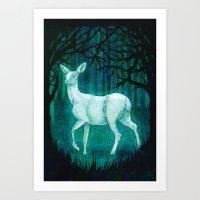 Subtle worlds Art Print