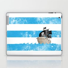 Pirates Love Stripes Laptop & iPad Skin