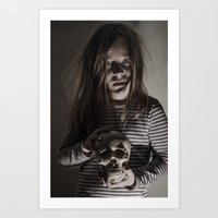 Come, sweet death Art Print