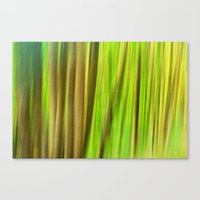 FOREST PEACE ABSTRACT Canvas Print