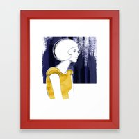 Irma Gold Framed Art Print