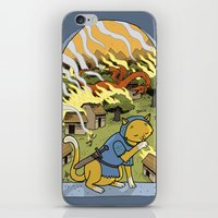 Sir Mittens Fails The Vi… iPhone & iPod Skin