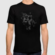 Diver Mens Fitted Tee Black SMALL