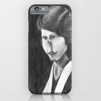 Victoriana Mustached Woman  iPhone 6 Slim Case