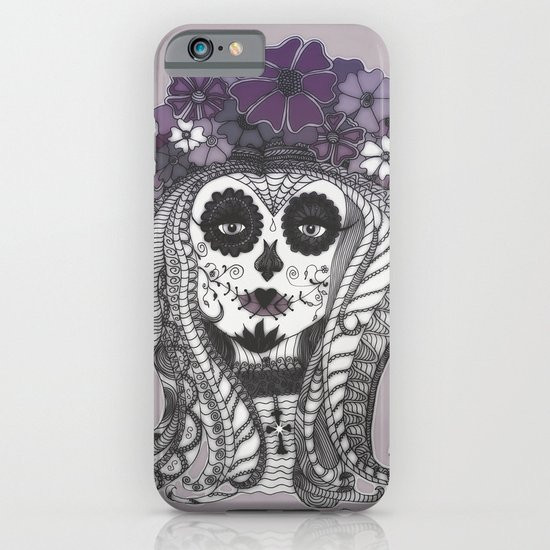 FLOWER CANDY SKULL iPhone & iPod Case