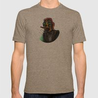 The Eye in the Ointment Mens Fitted Tee Tri-Coffee SMALL