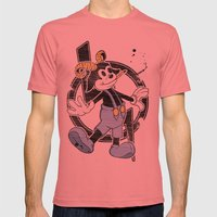 FAUNY  Mens Fitted Tee Pomegranate SMALL
