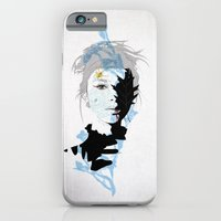 iPhone Cases featuring cobweb by SEVENTRAPS