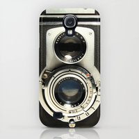 Galaxy S4 Cases featuring Vintage Camera by Ewan Arnolda