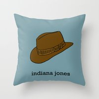 Indiana Jones Throw Pillow