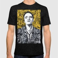 T-shirt featuring Tarantino by Matthew Brazier Illu…