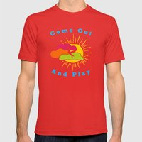 Come Out And Play Mens Fitted Tee Red SMALL
