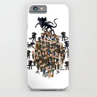 Super Aliens³ Resurrection iPhone 6 Slim Case