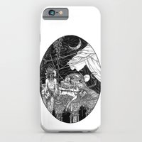 Fleeing Skeleton iPhone 6 Slim Case