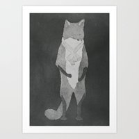 Fox Fur Art Print