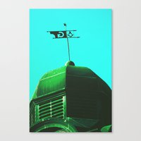 The Green Order Canvas Print