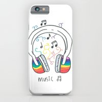 iPhone & iPod Case featuring Music by Emma's Designs