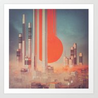 Art Print featuring RIFE (everyday 08.23.15) by Beeple