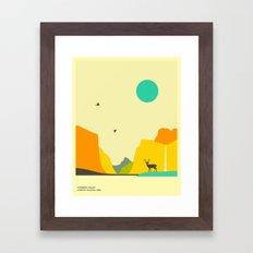YOSEMITE NATIONAL PARK, Yosemite Valley Framed Art Print