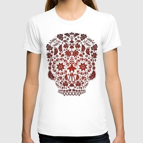 Day of the Dead Skull No.17 T-shirt