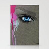 -Hypnotic Eyes- Stationery Cards