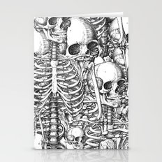 Skeleton Mess Stationery Cards