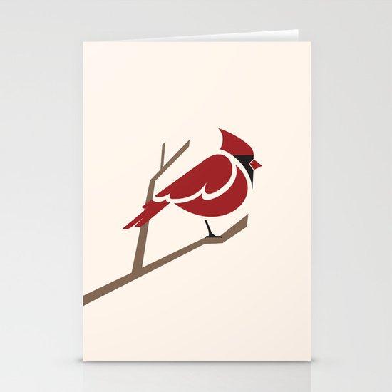 Cardinal Stationery Card