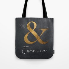 Typography Forever  Tote Bag