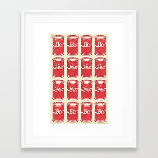 Not A Tomato Soup Framed Art Print