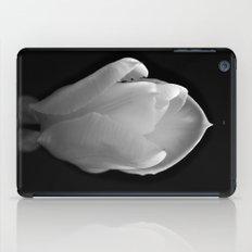 white tulip iPad Case