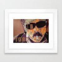 Del Toro Framed Art Print