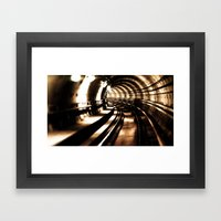 Tunnel  Framed Art Print