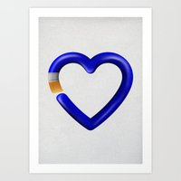 Love To Paint Art Print