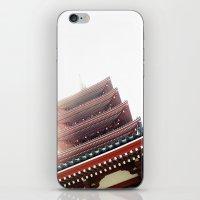 Tokyo Temple iPhone & iPod Skin