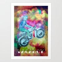 Vacancy Art Print