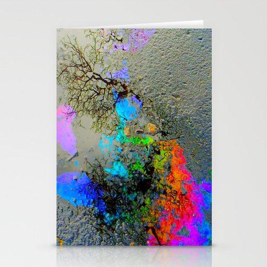 Urban Rainbow Stationery Card