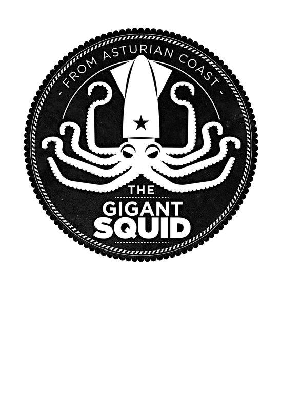 Gigant Squid Art Print