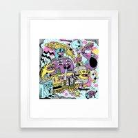 The Adventures Of Rad St… Framed Art Print