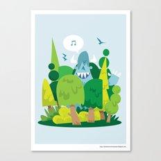 Spring has sprung.. Canvas Print