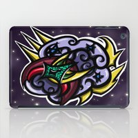 Digital Abstract Graffiti #2 iPad Case