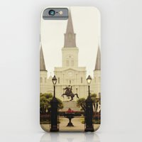 New Orleans Looking Through Jackson Square iPhone 6 Slim Case
